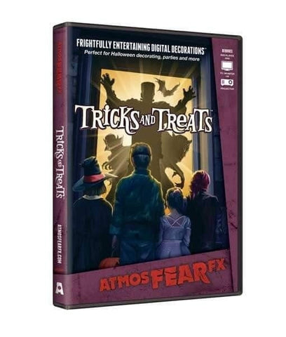 Tricks and Treats DVD - Digital Halloween Decorations [CLOSEOUT]