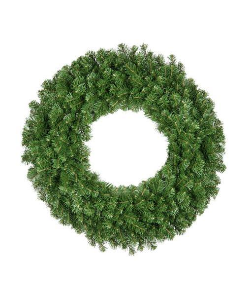 "Wreath - 72"" (6') Olympic Pine Wreath - Unlit"