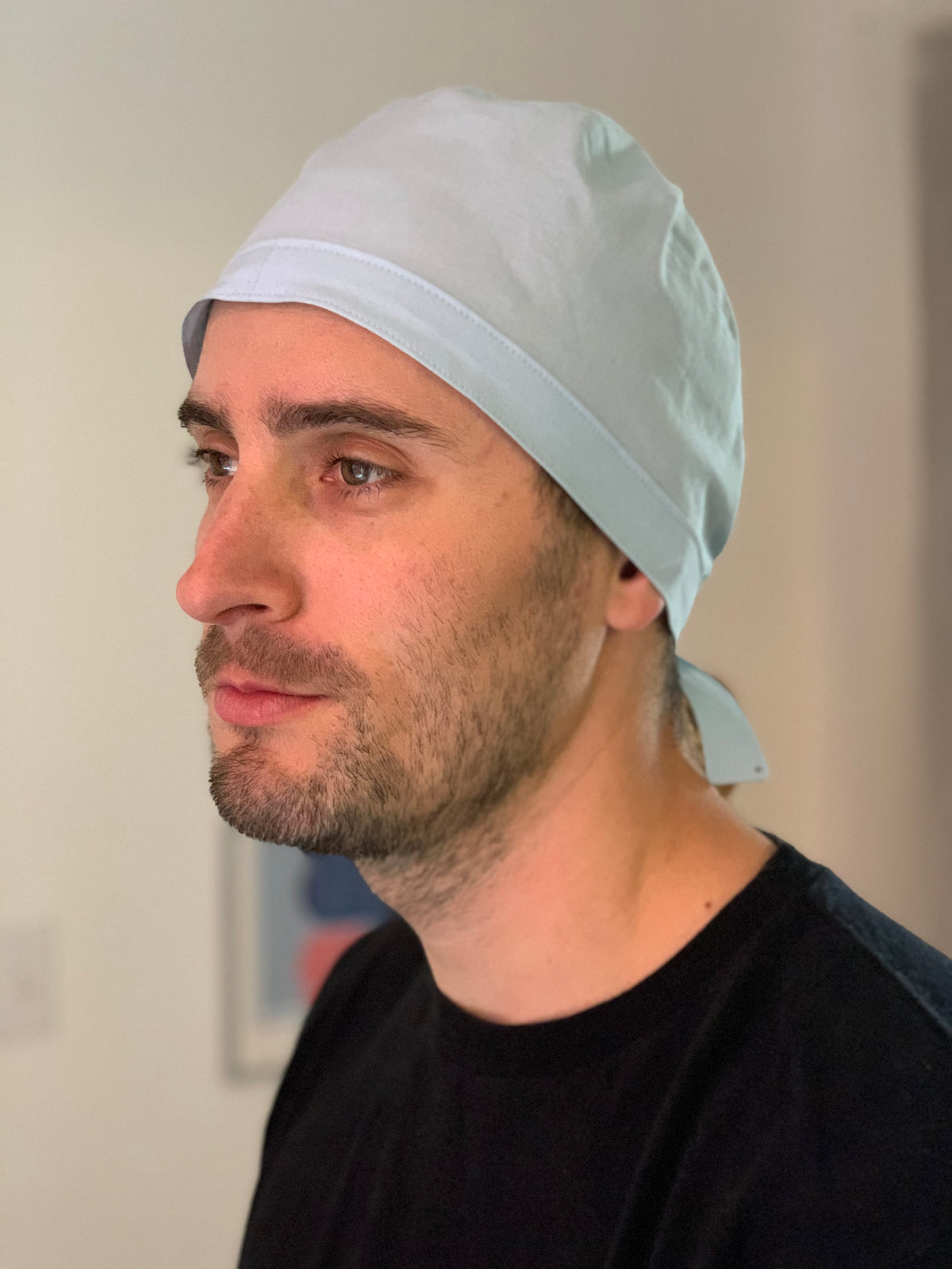 FREE scrub cap pattern and tutorial