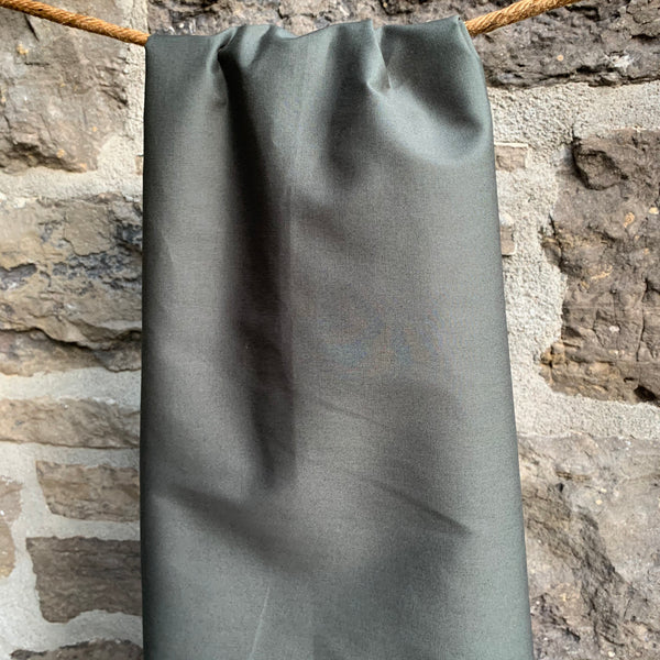 Chimney Smoke Col. 36 - Simplifi Fabric - Organic Cotton Solid Poplin