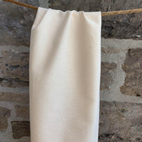 5.65oz Organic Cotton Light Weight Canvas - Grown & Made in USA - Natural