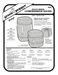 Space Miser Compression Sacks - 564 - The Green Pepper Patterns