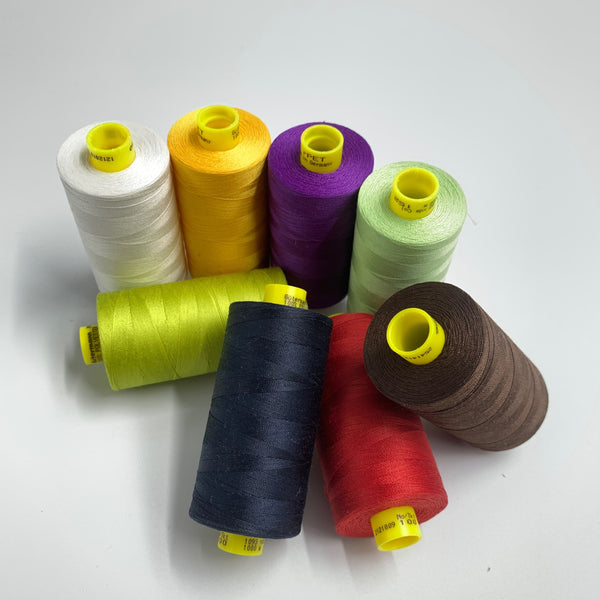 Recycled Polyester / Mara 100 rPET Sewing Thread - 1000m - 50 Colors