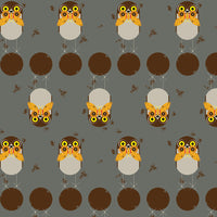 Burrowing Owl - Lakehouse Vol. 2 - Charley Harper - Birch Fabrics - Poplin