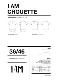 I am CHOUETTE - Polo Shirt + Bodysuit Pattern -  I AM PATTERNS