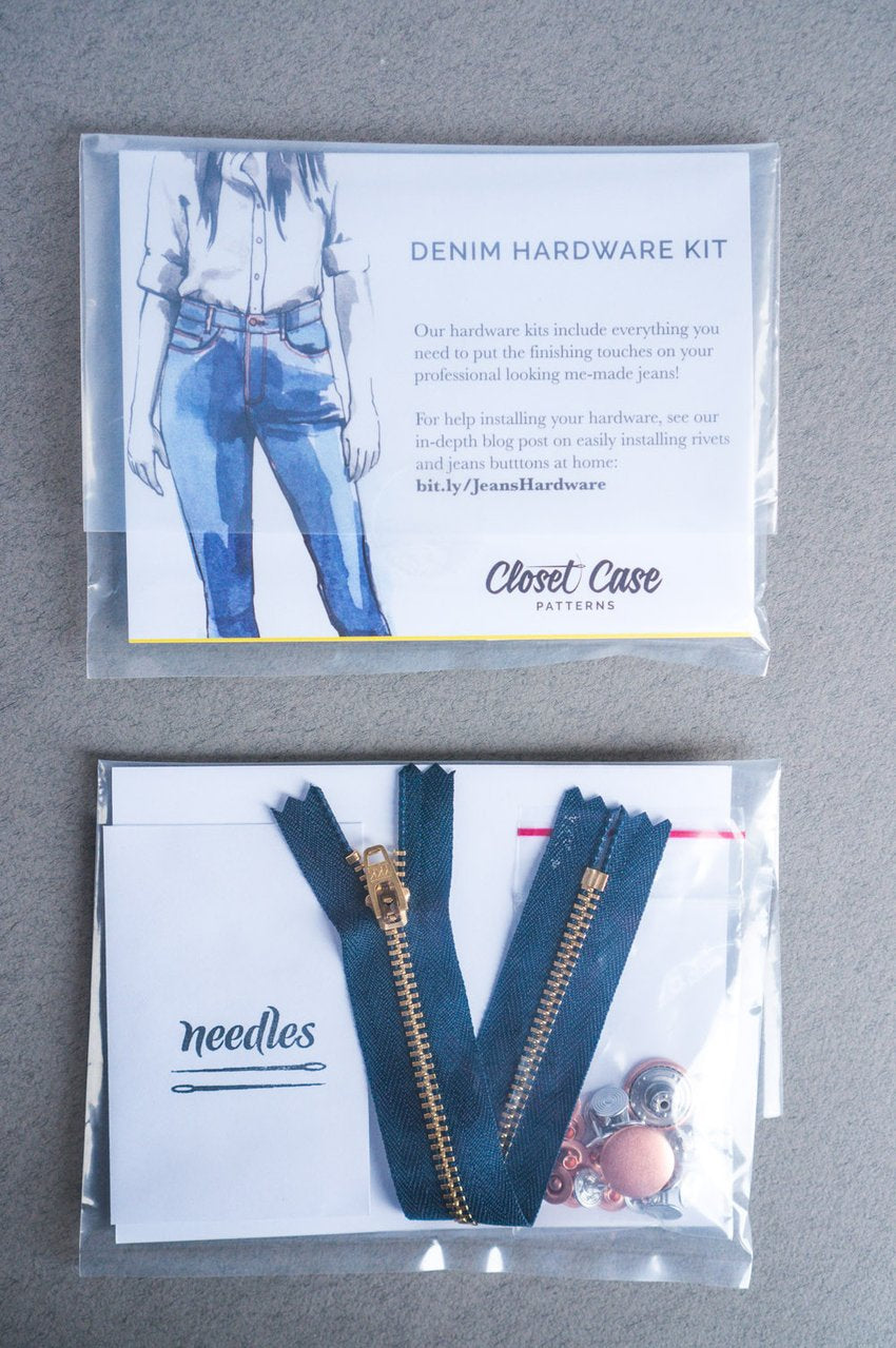 Zipper Fly Jeans Making Kit - Closet Case Patterns