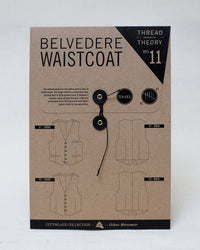 Belvedere Waistcoat Pattern - Thread Theory