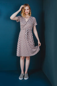 The Westcliff Dress Pattern - Friday Pattern Company