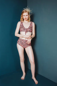 Vernazza Two Piece Swim Pattern - Friday Pattern Company