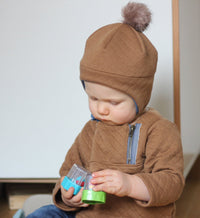 Hugo Sweatshirt & Hat Set Sewing Pattern - Baby 6M/4Y - Ikatee