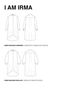I am IRMA - Dress + Shirt Pattern -  I AM PATTERNS
