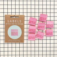 """PERFECTLY IMPERFECT"" Woven Label Pack - Kylie And The Machine"