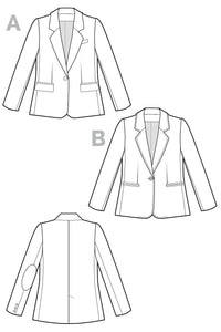 Jasika Blazer Pattern - Closet Core Patterns