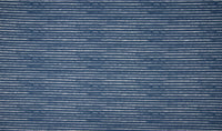 Cotton Poplin - European Import - Oeko-Tex® - STRIPES - Jeans
