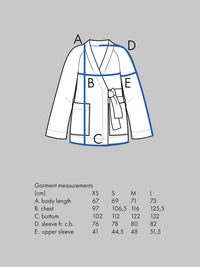 Wrap Jacket Pattern - The Assembly Line