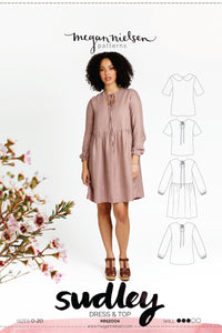 Sudley Dress & Blouse - Megan Nielsen Patterns - Sewing Pattern