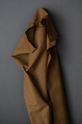 Flax Cotton British Dry Oilskin - Tobacco - Merchant & Mills