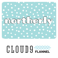 Solid - Gray - Northerly - Cloud 9 Fabrics - Flannel