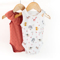 Malaga Bodysuit Sewing Pattern - Baby Boy & Girl 1M/4Y - Ikatee