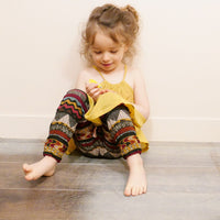 Dakar Pants or Shorts Sewing Pattern- Girl 3/12Y - Ikatee