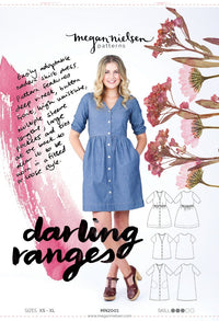 Darling Ranges Dress - Megan Nielsen Patterns - Sewing Pattern