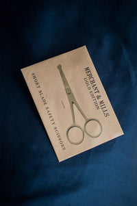 Short Blade Safety Gold Scissors - Merchant & Mills