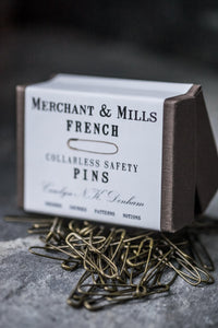 French Safety Pins - Merchant & Mills