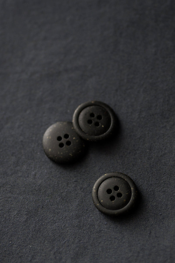 Nero - Recycled Resin Button - Merchant & Mills - 20mm