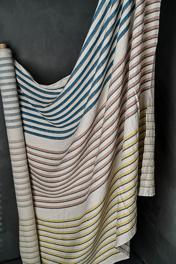 ABC Stripe Linen - European Import - Merchant & Mills