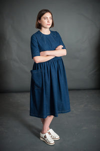 The Ellis & Hattie Dress Pattern - Merchant & Mills
