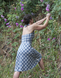 The Rose City Halter Dress Sewing Pattern - Sew House Seven