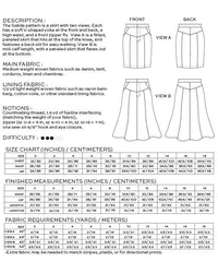 Salida Skirt Pattern - True Bias