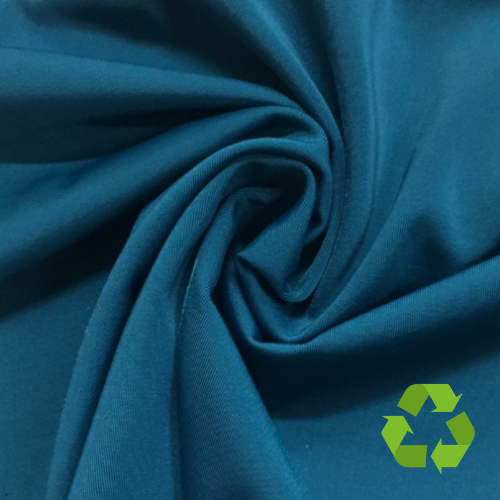 Repreve® Recycled Polyester Spandex Jersey - Dark Teal - 205gsm