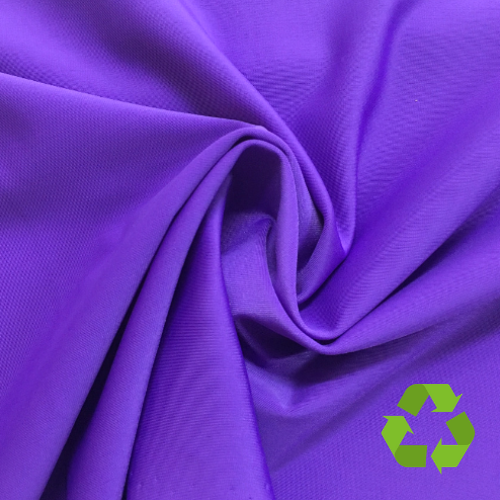 Repreve® Recycled Polyester Spandex Jersey - Purple - 205gsm