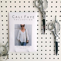 Valley Blouse Sewing Pattern - Cali Faye Collection