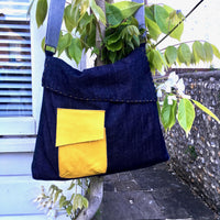 The Almost Square Bag Sewing Pattern - Dhurata Davies