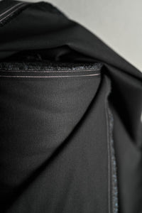 Black - Sanded Cotton Twill - Merchant & Mills