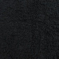 Black - Organic Cotton Sherpa - Birch Fabrics