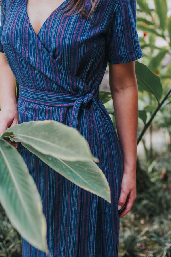 Highlands Wrap Dress Pattern - Allie Olson