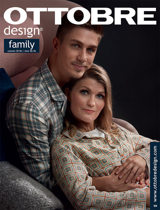 Ottobre Designs Pattern Magazine - Family -7/2018 issue