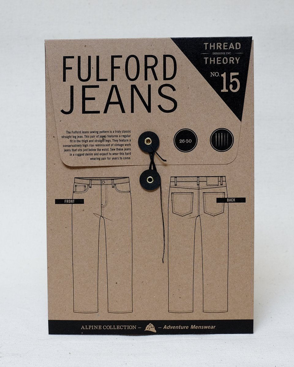 Fulford Jeans Pattern - Thread Theory