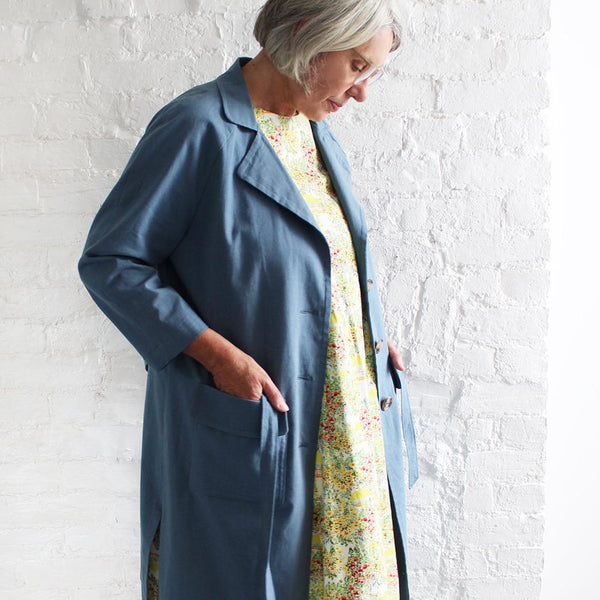 Lottie Duster Coat Pattern - SewGirl UK