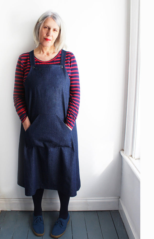 Mildred Pinafore Dress Pattern - SewGirl UK