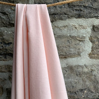 Organic Cotton Flannel 155gsm - Nude Pink