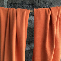 Bamboo Stretch French Terry - 280gsm - Pumpkin