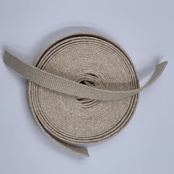 Hemp & Hemp Organic Cotton Webbing