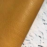 Vegan Leather - Vintage - Corn