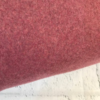 Organic Cotton Polar Fleece - European Import - Bordeaux