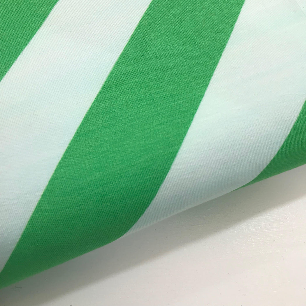 Stripemania - Green - This Summer by Hamburger Liebe Jersey