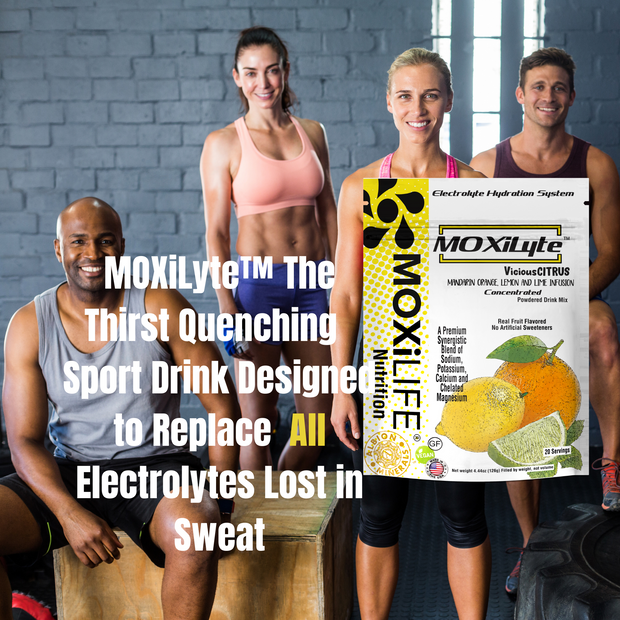 MOXiLyte™ Concentrated Premium Electrolyte Powdered Drink Mix